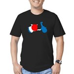 Lava Color Burst Organic Men's T-Shirt