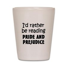 Pride and Prejudice Shot Glass
