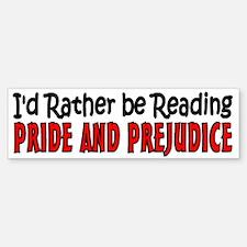 Pride and Prejudice Bumper Bumper Sticker