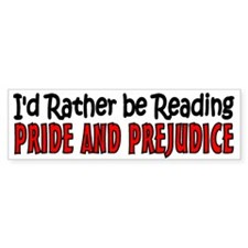 Pride and Prejudice Bumper Sticker