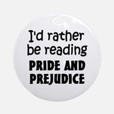 Pride and Prejudice Ornament (Round)