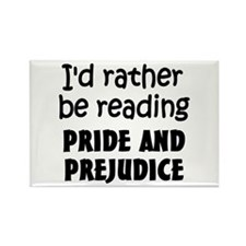 Pride and Prejudice Rectangle Magnet