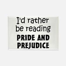 Pride and Prejudice Rectangle Magnet