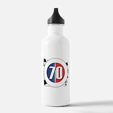 70 Car Logo Water Bottle