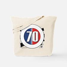 70 Car Logo Tote Bag