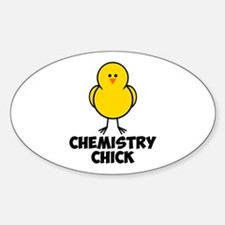 Chick Sticker (Oval)