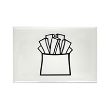 French fries Rectangle Magnet