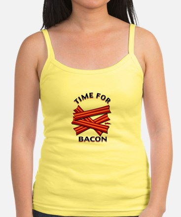 Time For Bacon! Jr.Spaghetti Strap