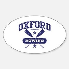 Oxford England Rowing Decal