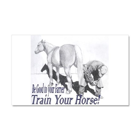 Be good to your Farrier Car Magnet 20 x 12