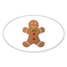 Gingerbread man Decal