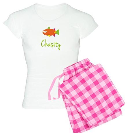 Chasity is a Big Fish Women's Light Pajamas