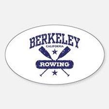 Berkeley California Rowing Decal