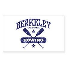 Berkeley California Rowing Decal