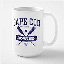 Cape Cod Rowing Large Mug