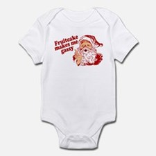 Fruitcake Makes Santa Gassy Infant Bodysuit