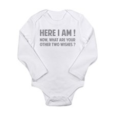 Here I am Long Sleeve Infant Bodysuit