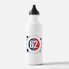 62 Car logo Water Bottle
