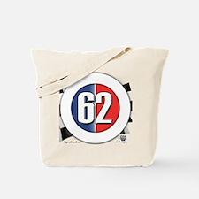 62 Car logo Tote Bag