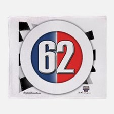 62 Car logo Throw Blanket