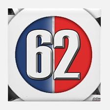 62 Car logo Tile Coaster