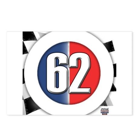 62 Car logo Postcards (Package of 8)