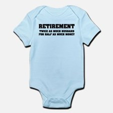 Retirement Infant Bodysuit
