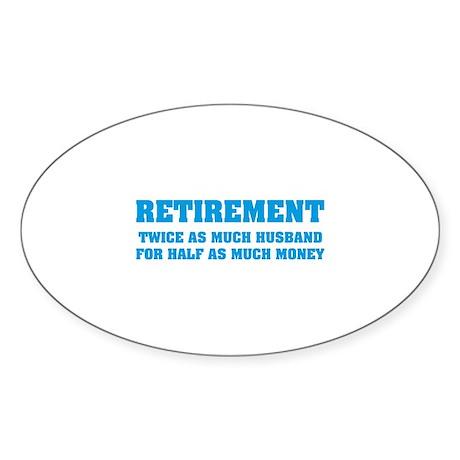Retirement Sticker (Oval 10 pk)