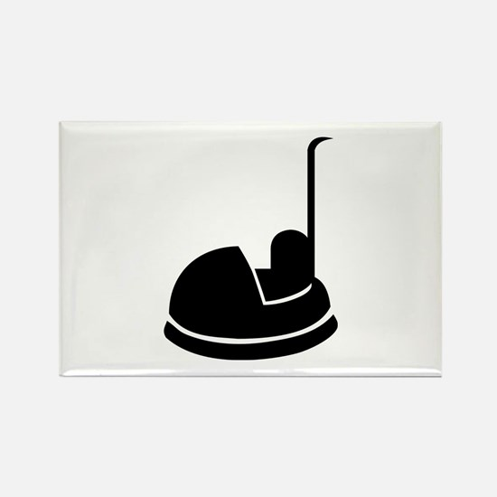 Bumper car Rectangle Magnet (100 pack)