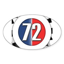 72 Car Logo Decal