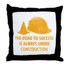The Road To Success Throw Pillow