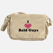 Cute I love black people Messenger Bag
