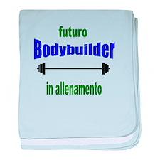 Futuro Bodybuilder baby blanket