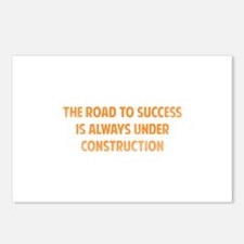 The Road To Success Postcards (Package of 8)