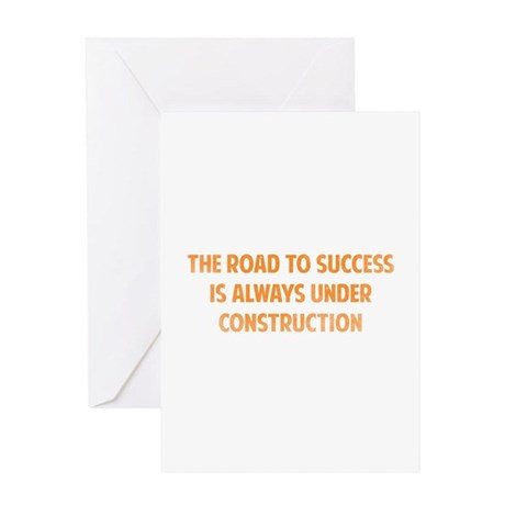 The Road To Success Greeting Card