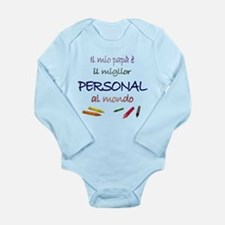 Miglior Personal Long Sleeve Infant Bodysuit