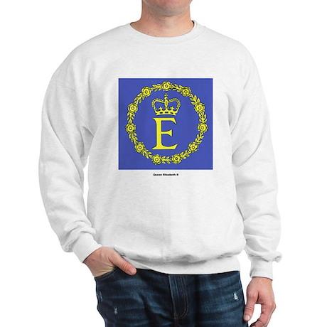 Queen Elizabeth II Flag Sweatshirt
