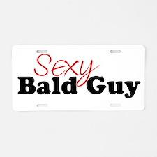 Cute Guy Aluminum License Plate