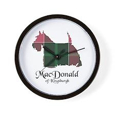 Terrier - MacDonald of Kingsburgh Wall Clock