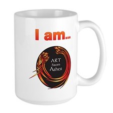 """Art from Ashes """"I am..."""" affirmation Lar"""