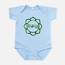 Cute Eastern philosophy Infant Bodysuit