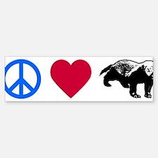 Honey Badger Bumper Bumper Sticker