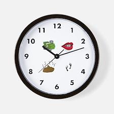 Pictionary Wall Clock