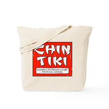 Chin Tiki Tote Bag