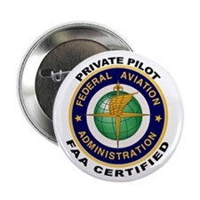 """Private Pilot 2.25"""" Button (10 pack)"""