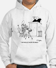 I Can Type 400 WPM Hoodie