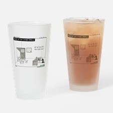 Cute Email Drinking Glass