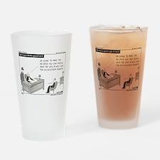 eDiscovery Godfather Drinking Glass