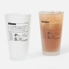 Courthouse Rock Drinking Glass