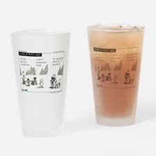 Island of Misfit Cases Drinking Glass